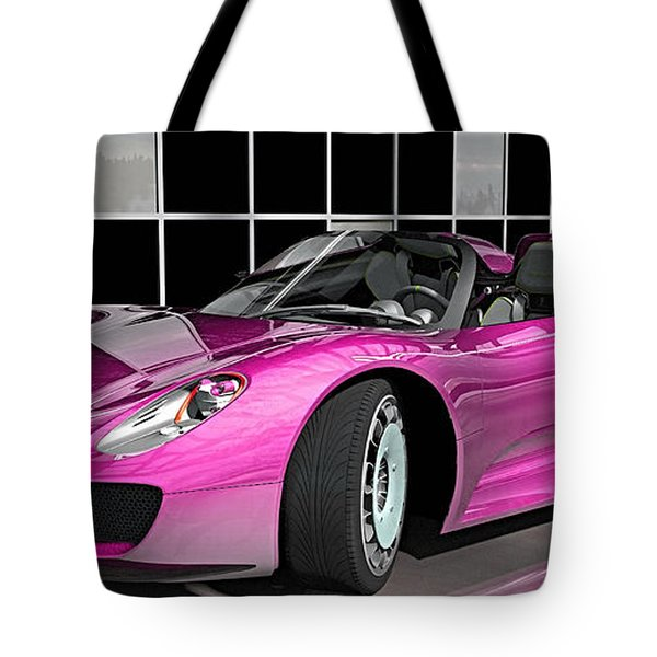 Porsche 918 Spyder Collection Tote Bag by Marvin Blaine
