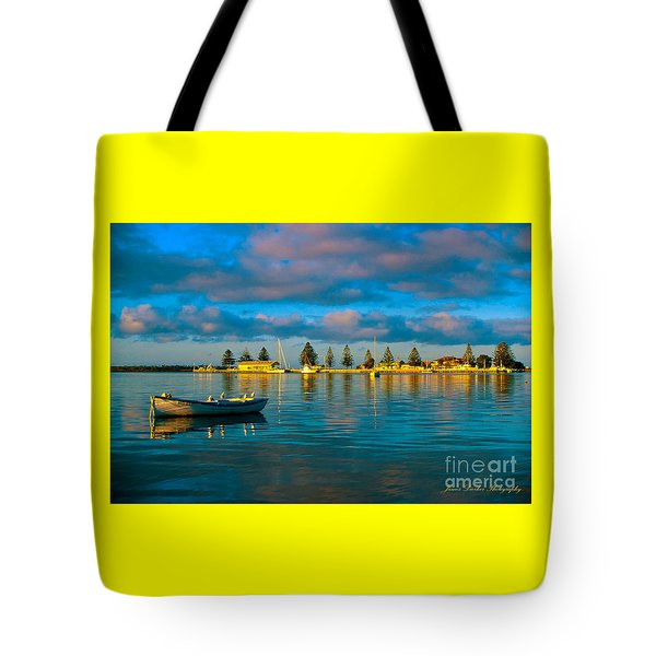 Port Albert Bay Tote Bag