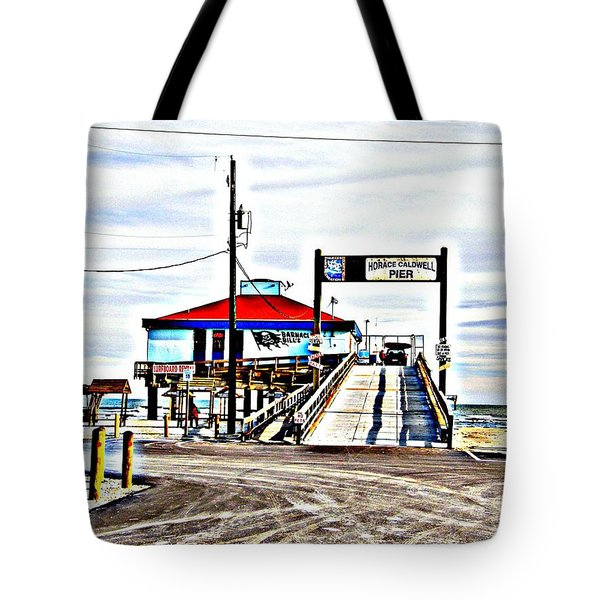 Tote Bag featuring the photograph Port Aransas Gulf Side by Antonia Citrino