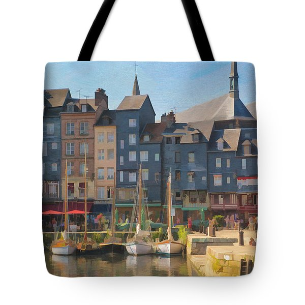 Port D'honfleur Tote Bag