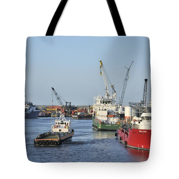 Port Fourchon Tote Bag