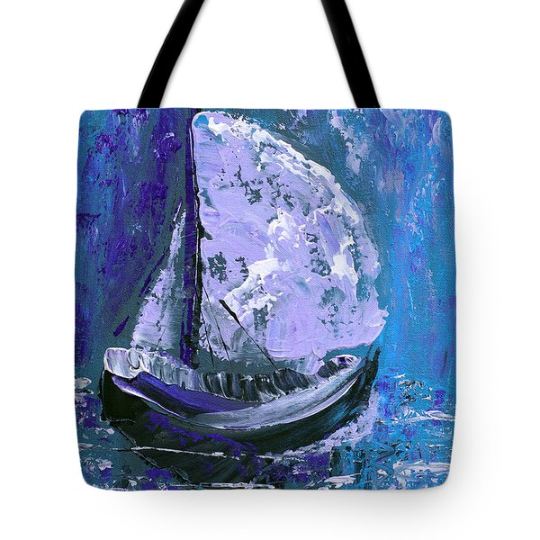 Port In The Storm Tote Bag by Donna Blackhall