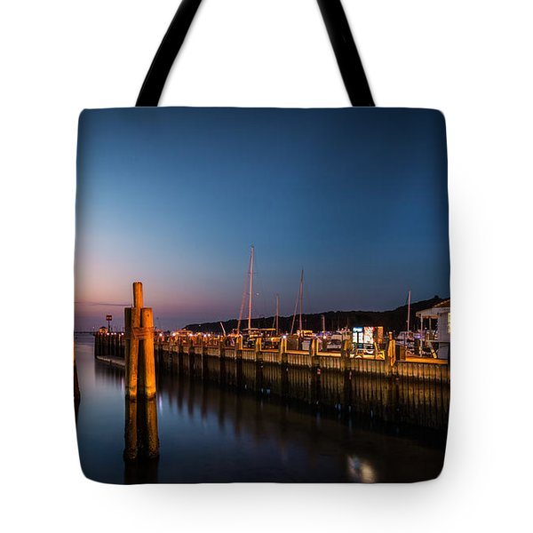 Port Jefferson Tote Bag by Mihai Andritoiu