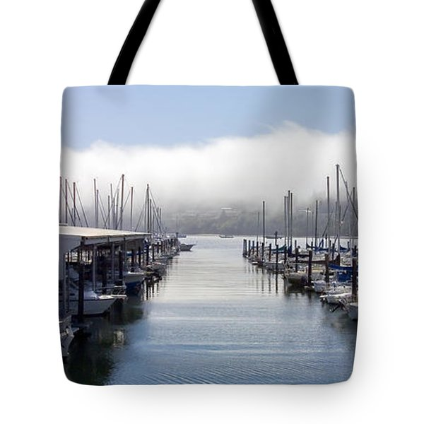 Tote Bag featuring the photograph Port Kingston Marina by Greg Reed