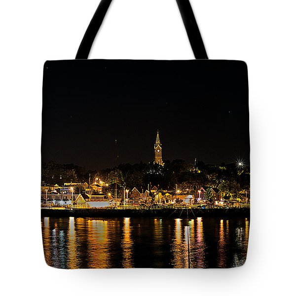 Port Lights Tote Bag