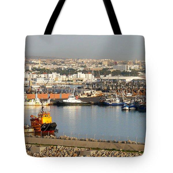 Port Of Agadir Morocco 1 Tote Bag