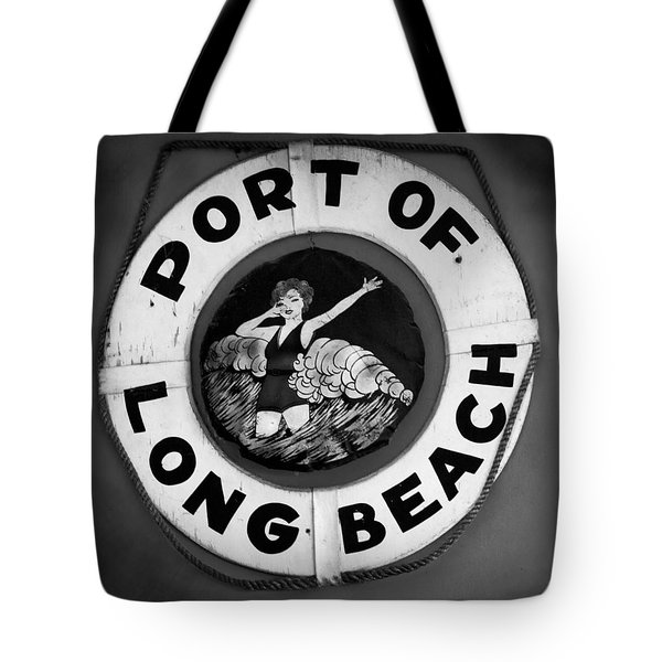 Port Of Long Beach Life Saver By Denise Dube Tote Bag