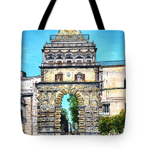 Porta Nuova - Palermo Tote Bag by Loredana Messina