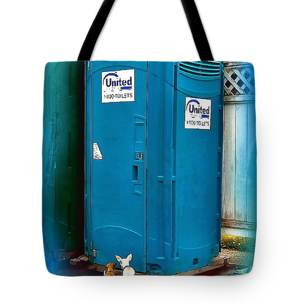 Porta Puppy Potty... Tote Bag by Sadie Reneau