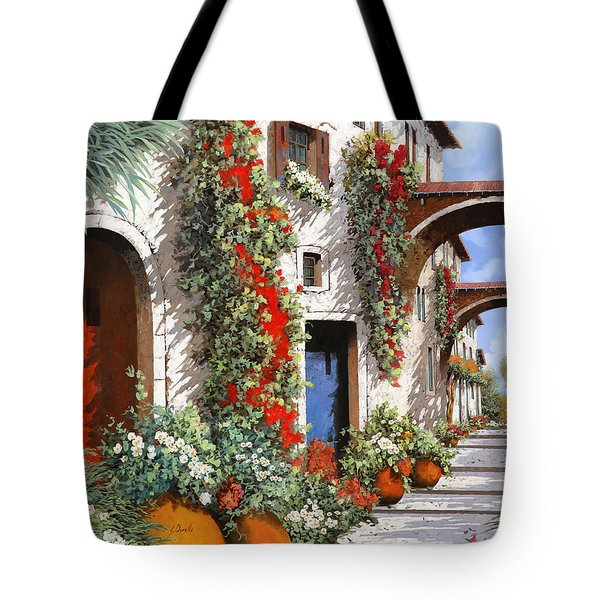 Porta Rossa Porta Blu Tote Bag by Guido Borelli