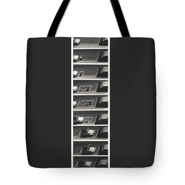 Portable Parking Space Tote Bag by Blue Sky