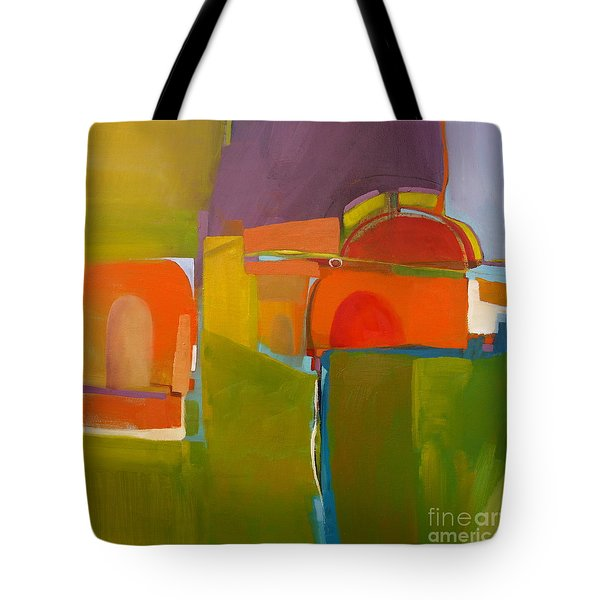 Tote Bag featuring the painting Portal No. 2 by Michelle Abrams