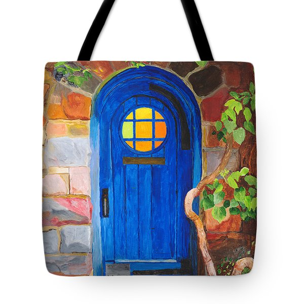Tote Bag featuring the painting Portal by Rodney Campbell