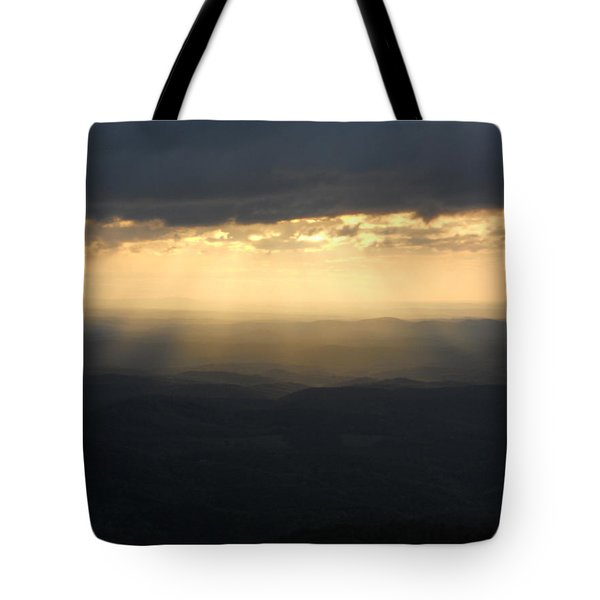 Portal To Heaven On The Blue Ridge Parkway Tote Bag
