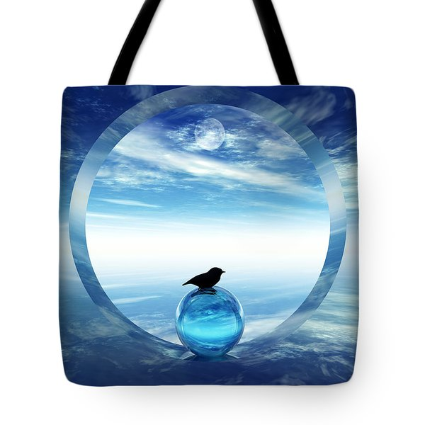 Portal To Peace Tote Bag by Richard Rizzo