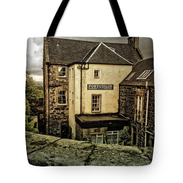 The Portcullis Tote Bag