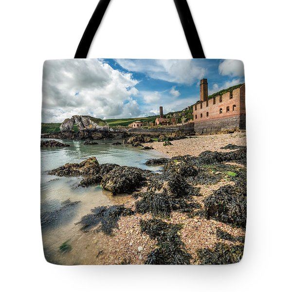 Porth Wen Brickworks Tote Bag by Adrian Evans