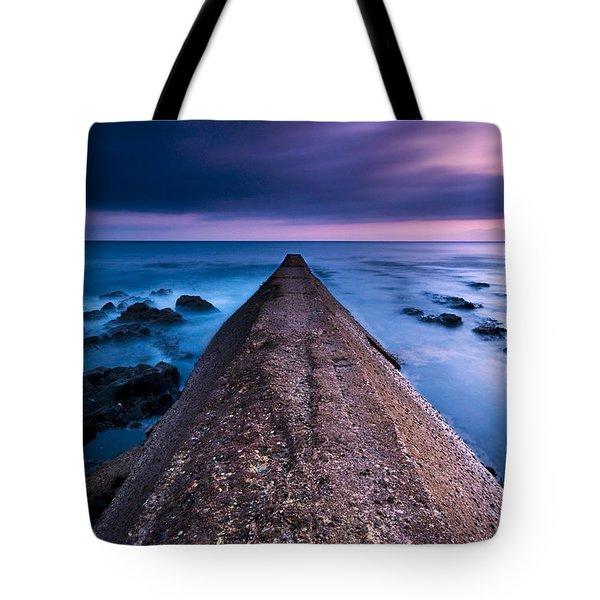 Porthleven Sunset Tote Bag