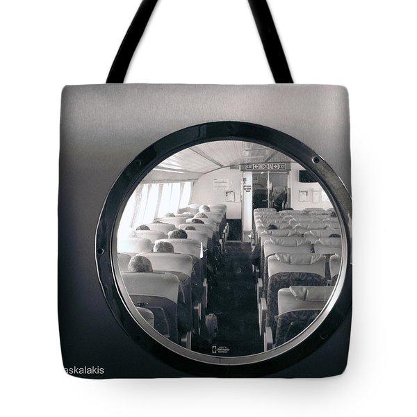 Porthole Tote Bag