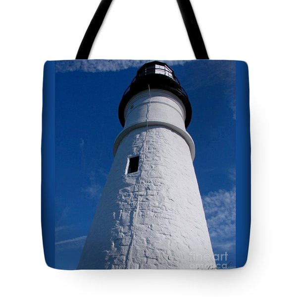 Portland Head Tote Bag