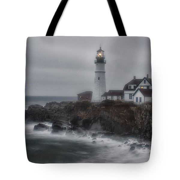 Portland Head Nor'easter Tote Bag