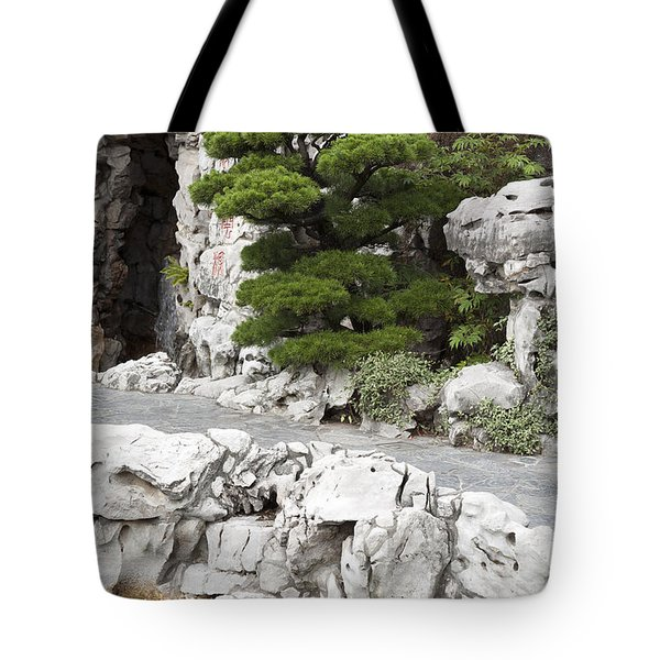 Portland Lan Su Gardens Tote Bag by Peter French