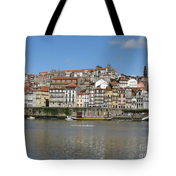 Tote Bag featuring the photograph Porto by Arlene Carmel
