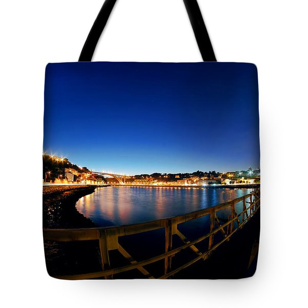 Porto By Night. Tote Bag