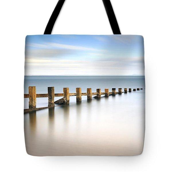 Portobello Groynes Tote Bag