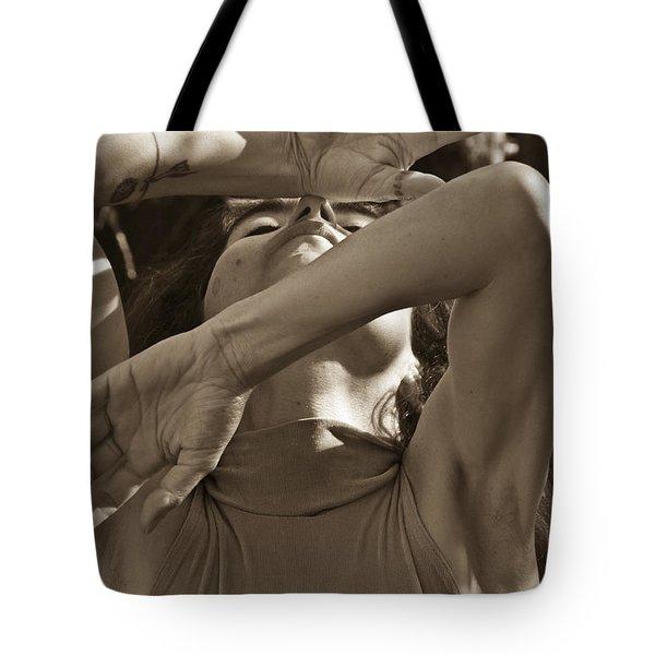 Portrait 9 Tote Bag