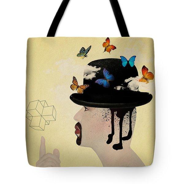 Portrait Hat Tote Bag by Mark Ashkenazi