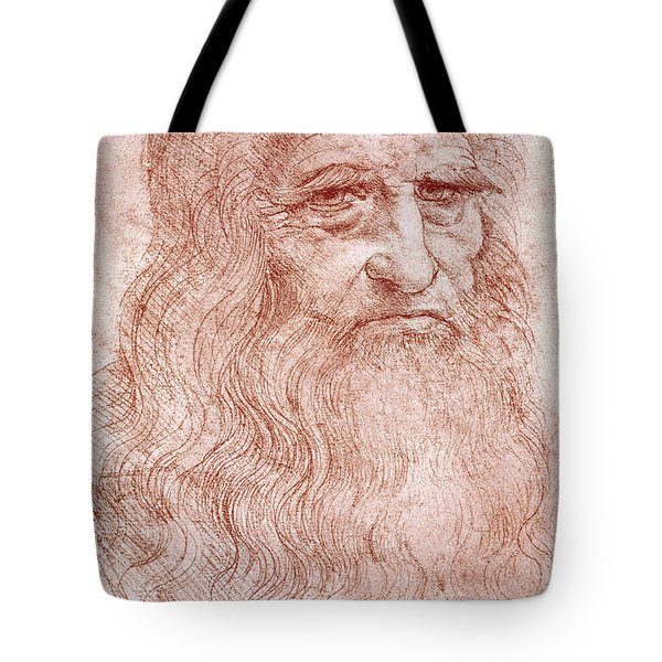 Portrait Of A Bearded Man Tote Bag
