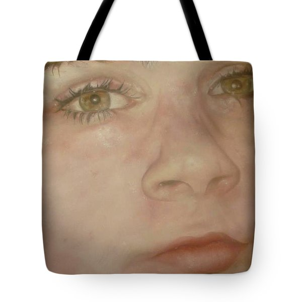 Portrait Of A Boy Tote Bag by Cherise Foster