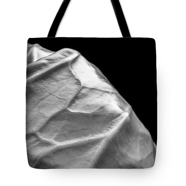 Portrait Of A Cabbage Tote Bag by Caitlyn  Grasso