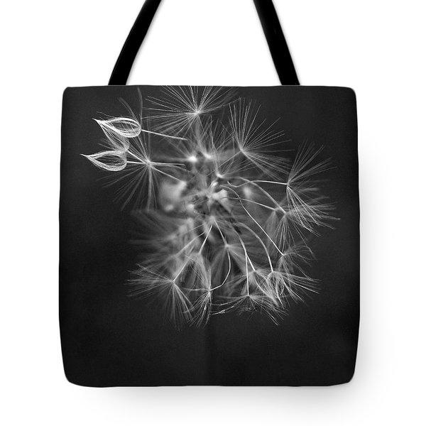 Portrait Of A Dandelion Tote Bag
