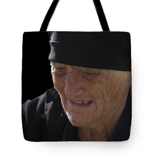 Portrait Of A Fishermans Wife Tote Bag by Heiko Koehrer-Wagner