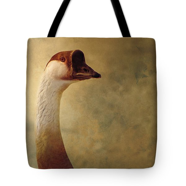 Portrait Of A Goose Tote Bag