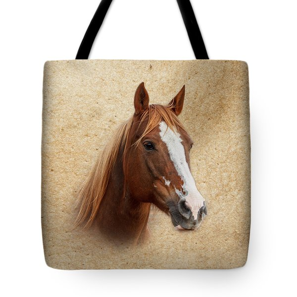 Portrait Of A Mare Print Tote Bag