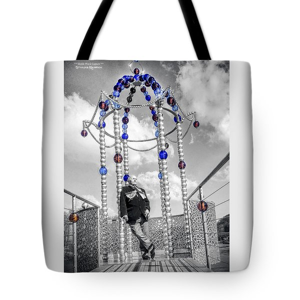 Tote Bag featuring the photograph Portrait Of A Troubled Grandpa by Stwayne Keubrick