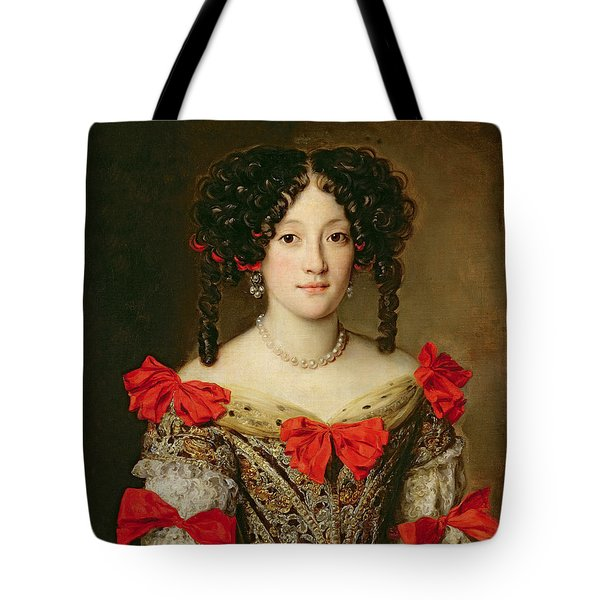 Portrait Of A Woman Tote Bag by Jacob Ferdinand Voet