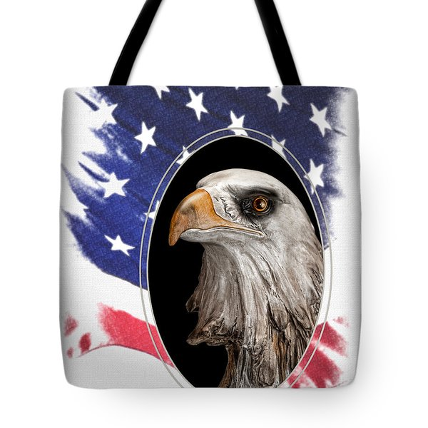 Portrait Of America Tote Bag