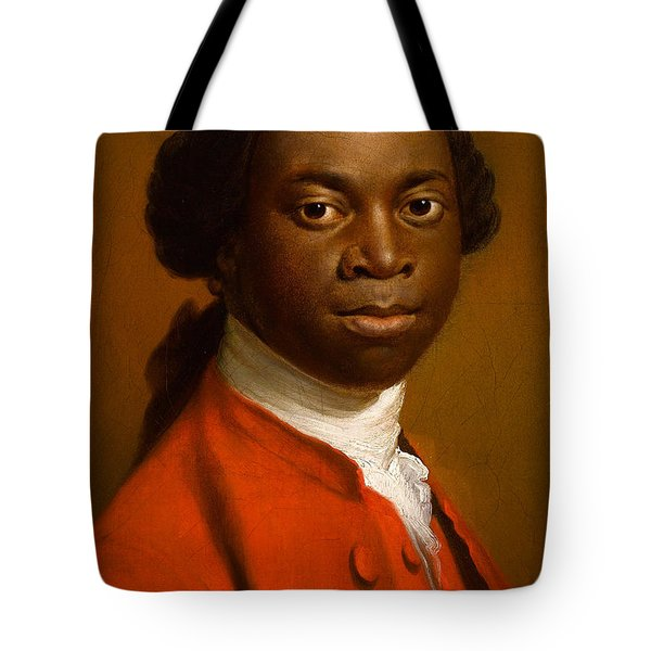Portrait Of An African Tote Bag by Allan Ramsay