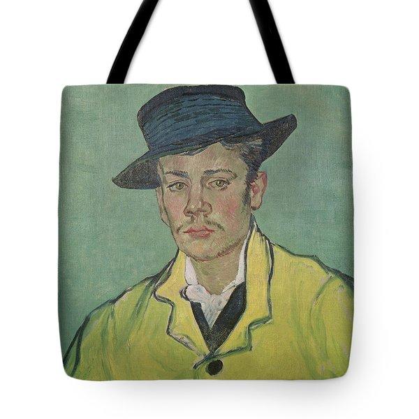 Portrait Of Armand Roulin Tote Bag by Vincent Van Gogh