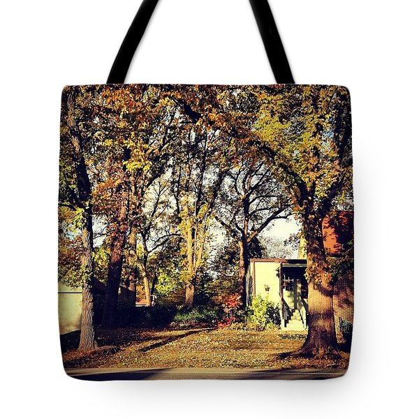 Portrait Of Autumn Tote Bag