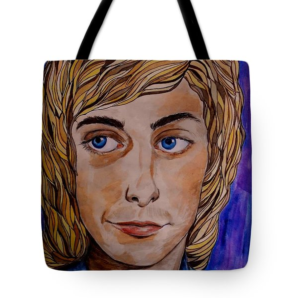 Portrait Of Barry 2 Tote Bag