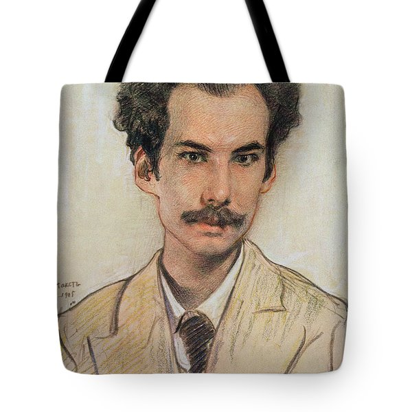 Portrait Of Boris Nikolayevich Bugaev Tote Bag