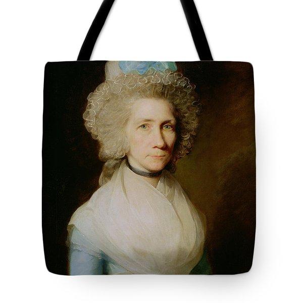 Portrait Of Elizabeth Caldwell Tote Bag
