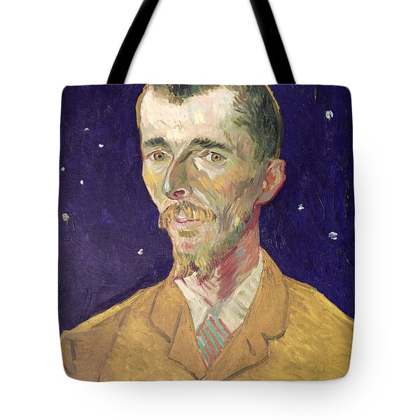 Portrait Of Eugene Boch Tote Bag by Vincent Van Gogh