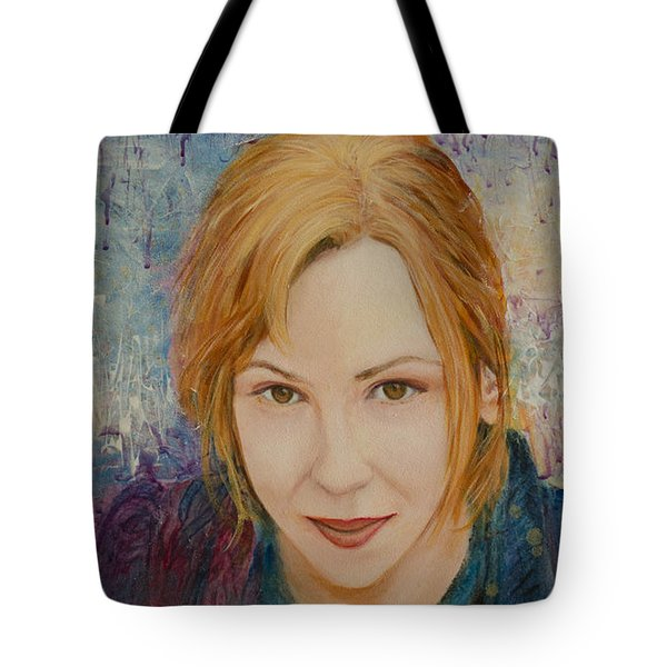 Portrait Of Kat Magda Tote Bag