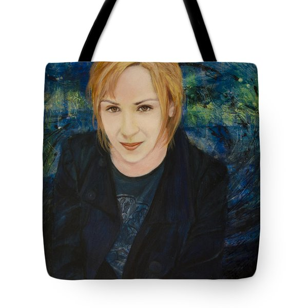 Portrait Of Katarzyna Magda Tote Bag by Ron Richard Baviello